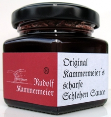 Scharfe Schlehen Sauce - 106 ml
