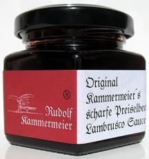 Scharfe Preiselbeer Lambrusco Sauce - 106 ml